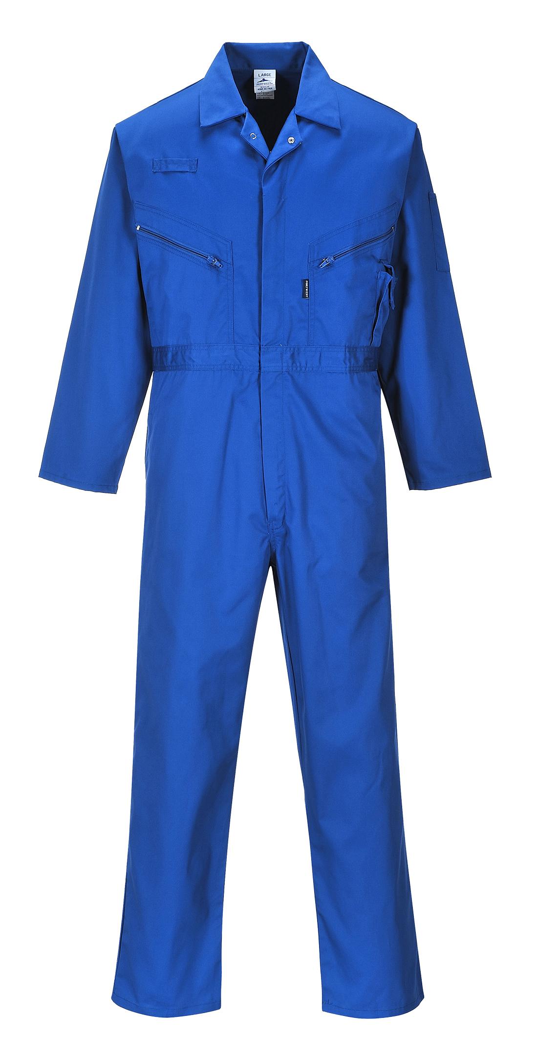 2XL - lungo Portwest Tuta da Lavoro Multi-tasche Blu navy Uomo